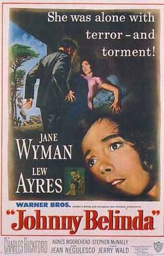 Johnny Belinda (1948 film) - Theatrical release poster