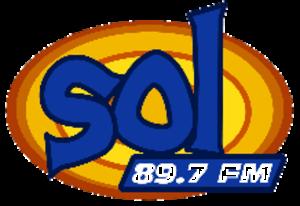 XHMZA-FM - Image: XHMZA sol 89.7FM logo