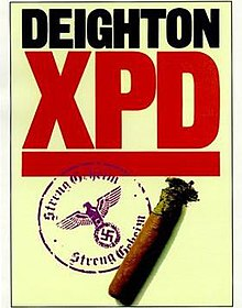 "Cover image to the first edition of ""XPD"" by Len Deighton"