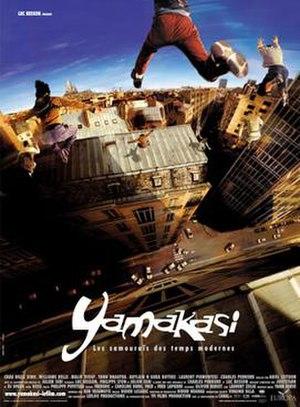 Yamakasi (film) - Poster