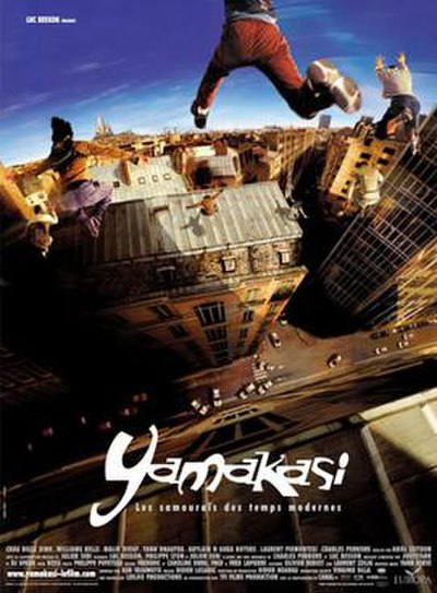 Picture of a movie: Yamakasi