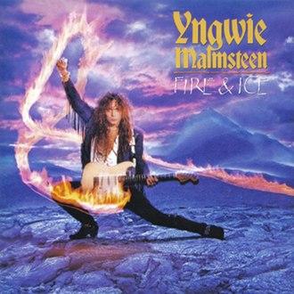 Fire & Ice (Yngwie Malmsteen album) - Image: Yngwie J Malmsteen Fire And Ice