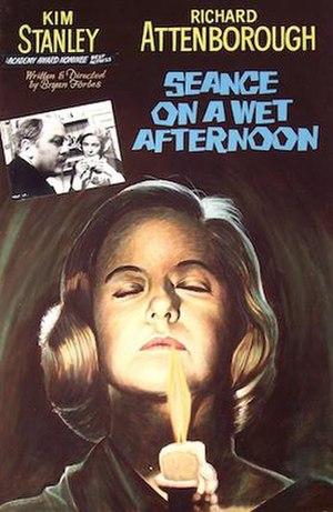 Séance on a Wet Afternoon - 1964 lobby card