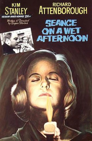 <i>Séance on a Wet Afternoon</i> 1964 film by Bryan Forbes