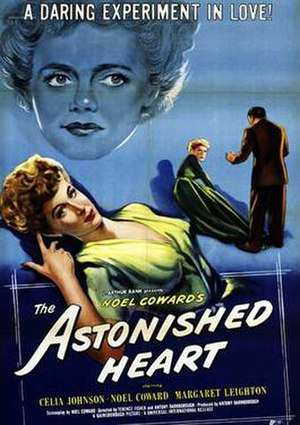 """The Astonished Heart (film) - Image: """"The Astonished Heart"""""""
