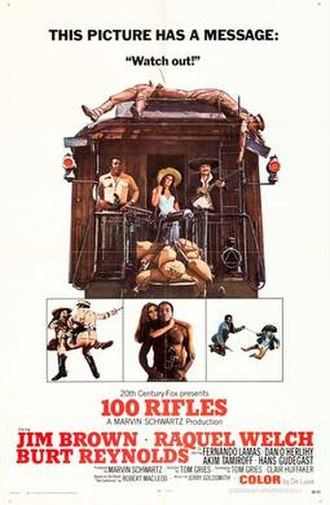100 Rifles - Image: 100 Rifles (movie poster)