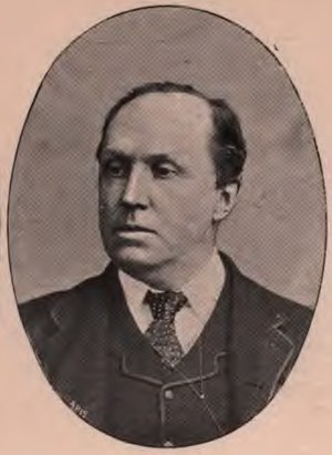 Robert Wallace (Edinburgh MP) - Robert Wallace c1895