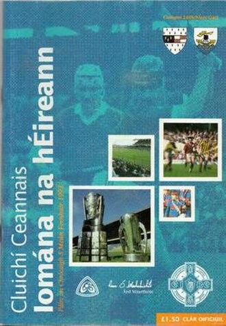 1993 All-Ireland Senior Hurling Championship Final - Image: 1993 All Ireland Senior Hurling Championship Final P