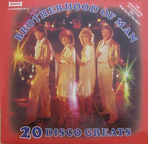 20 Disco Greats / 20 Love Songs - Image: 20 disco greats Brotherhood Of Man