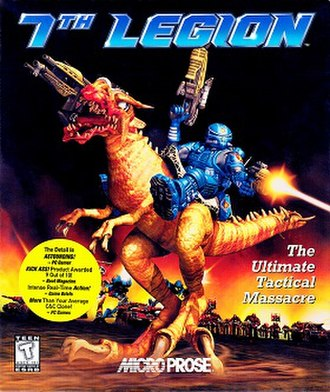 7th Legion (video game) - The cover for 7th Legion