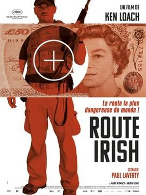 Route Irish (film) - French theatrical release poster