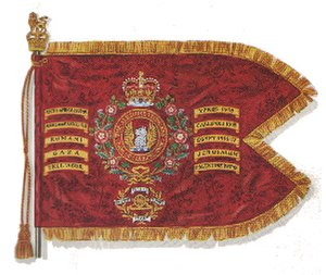 Ayrshire (Earl of Carrick's Own) Yeomanry - The Guidon of the Ayrshire Yeomanry