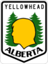 Alberta Yellowhead Highway shield