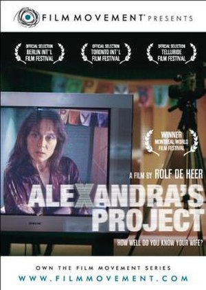 Alexandra's Project - Theatrical film poster