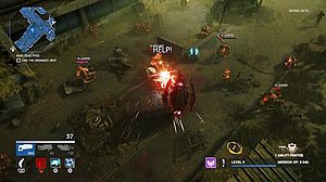 Alienation (video game) - Image: Alienation screenshot