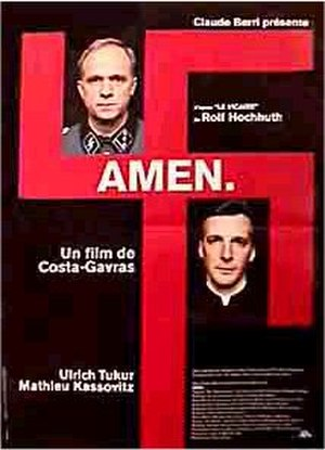 Amen. - Theatrical release poster