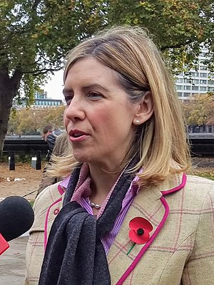 Andrea Jenkyns - Image: Andrea Jenkyns MP being interviewed