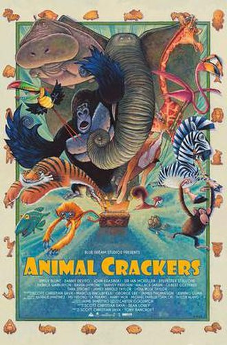 Animal Crackers (2017 film) - Theatrical release poster