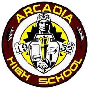 Arcadia High School (California) - Image: Arcadia High School logo