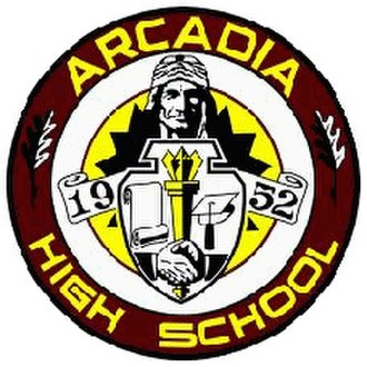 Arcadia High School (California) - Image: Arcadia High School logo
