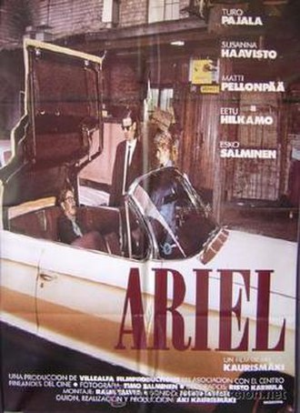 Ariel (film) - Theatrical release poster
