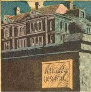 Arkham Asylum - Image: Arkham Asylum (Batman 258 (October 1974))