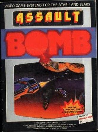 Assault (1983 video game) - Cover art