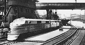 Camden Station - Image: B&O Royal Blue locomotive 51