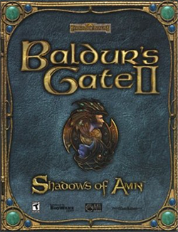 Baldur's Gate II - Shadows of Amn Coverart.png