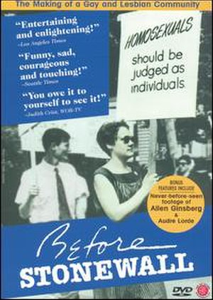 Before Stonewall - DVD cover