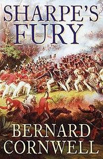 <i>Sharpes Fury</i> book by Bernard Cornwell