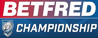 2018 RFL Championship - Image: Betfred Championship logo