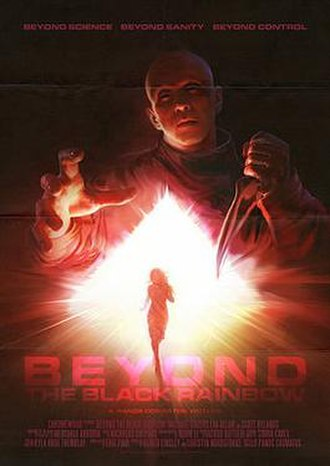 Beyond the Black Rainbow - Theatrical release poster