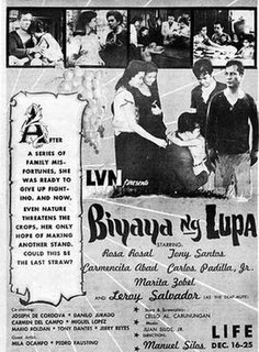 <i>Blessings of the Land</i> 1959 film by Manuel Silos