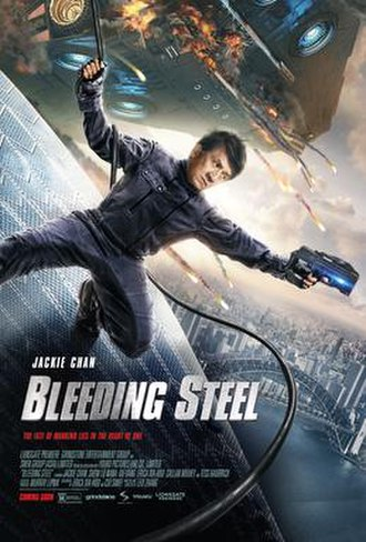 Bleeding Steel - Theatrical release poster