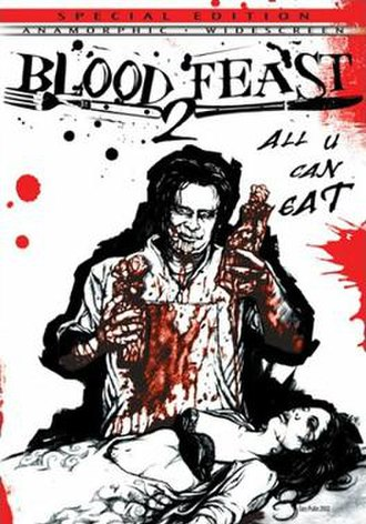 Blood Feast 2: All U Can Eat - DVD cover
