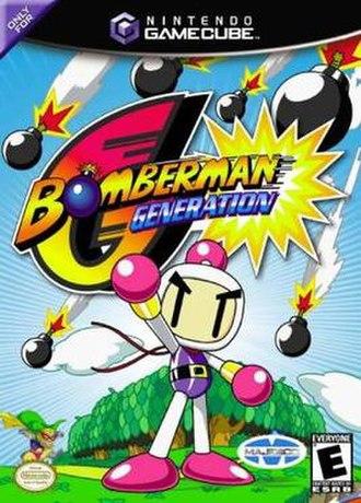 Bomberman Generation - North American cover art