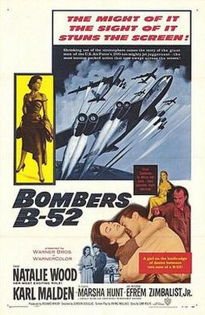 Bombers B 52   US Theatrical Release Poster