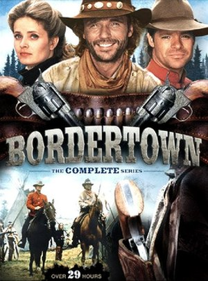 Bordertown (1989 TV series) - Complete series DVD cover