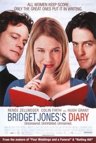 Bridget Jones's Diary (film) - Theatrical release poster