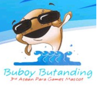 2005 ASEAN Para Games - Buboy Butanding (Buboy the Whale Shark), Official Mascot of the 3rd ASEAN Para Games