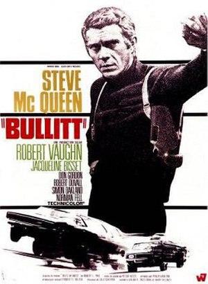 Bullitt - Film poster by Michel Landi