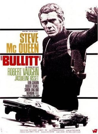 Bullitt - Film poster by Michel Landi