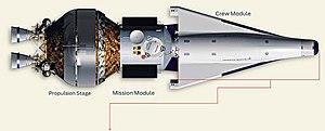 CEV initial concept in Lockheed Martin design,...