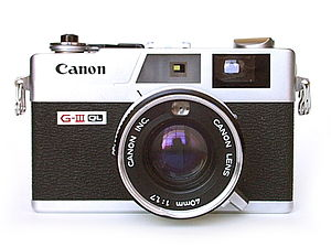 Canonet - A Canonet GIII QL-17 from the early 1980s