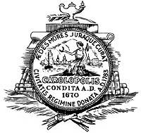 Official seal of Charleston, South Carolina