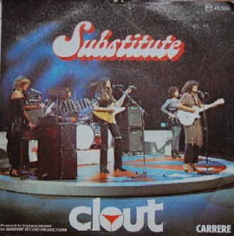Substitute (The Righteous Brothers song) - Image: Clout substitute cover kumeon