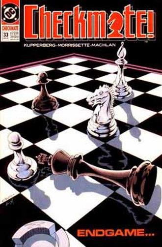 Checkmate (comics) - Image: Cmlast