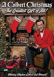 <i>A Colbert Christmas: The Greatest Gift of All!</i> Grammy Award-winning Christmas special