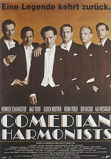 <i>Comedian Harmonists</i> (film)
